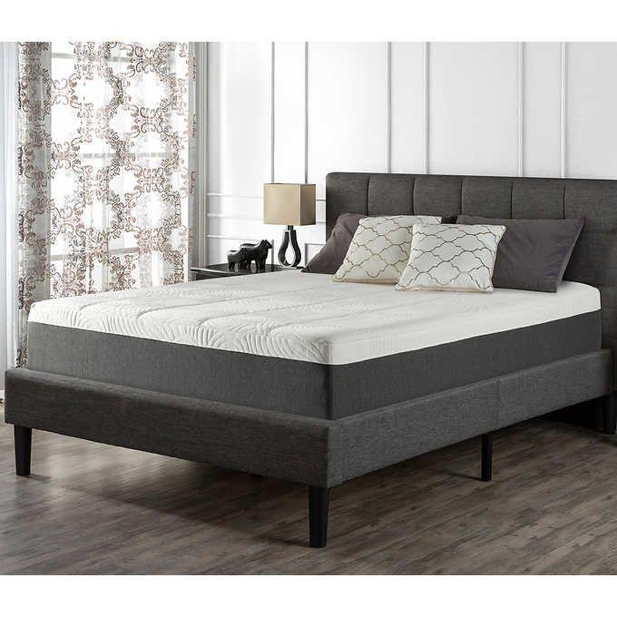 Blackstone Full Set  Memory Foam Mattress And Platform Bed