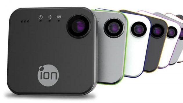 iON presenta SnapCam la videocamera wearable e social