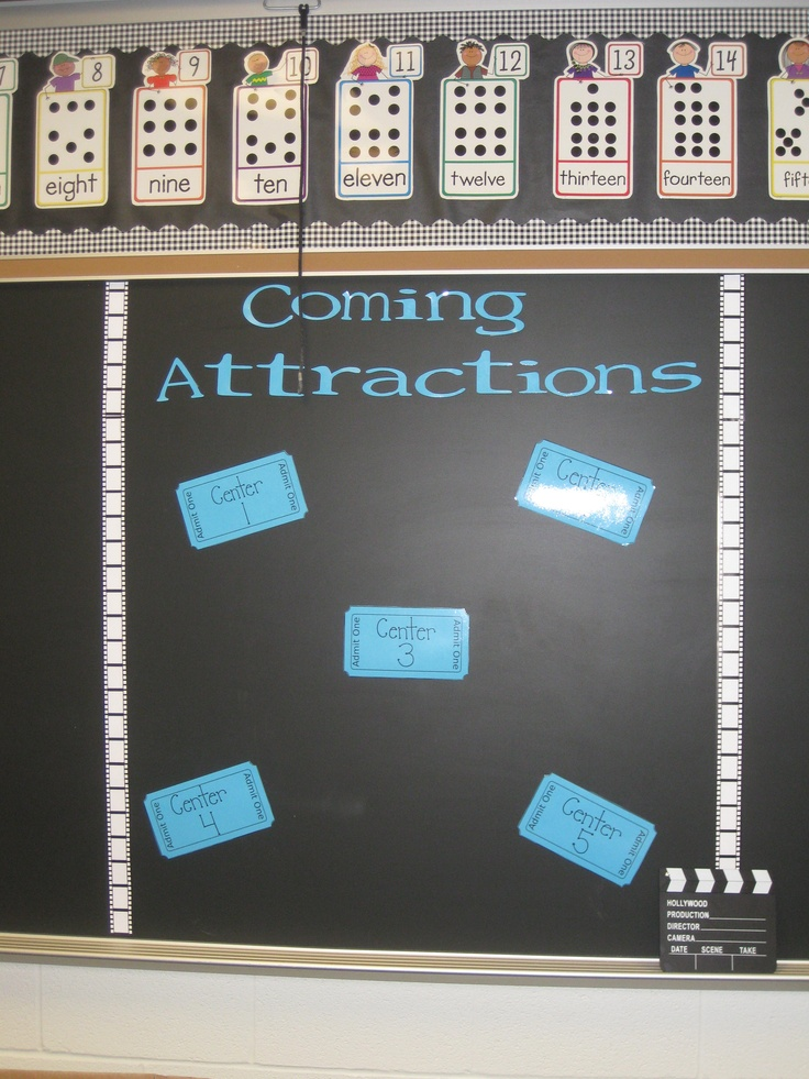 Like the Coming Attractions board... Great for posting shows and events
