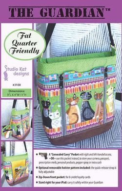 The Guardian Concealed Carry Purse Pattern NANCY'S TRUNK