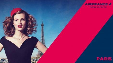 """""""Air France, France is in the air"""": rafinament desavarsit intr-o noua campanie de imagine"""