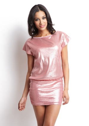 Perfect dress for a night out in Vegas: Minis Dresses, Minis Dog Qu, Tarts Rose, Mini Dresses, Events, Saia Mini-Sequins, Gold Sequins, Perfect Dresses, Sequins Minis