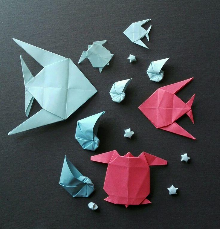 Un mare di origami