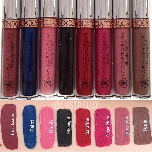 ABH New Liquid Lipstick Shades - July 15