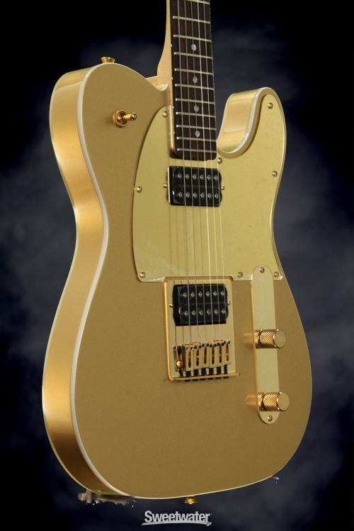 Great Look, Great Sound: Gold Telecaster from Squier by Fender