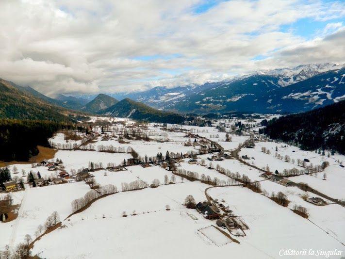 Cu balonul deasupra Alpilor