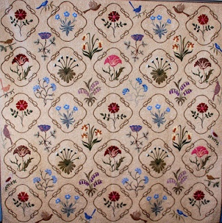 Kelmscott by Michele Hill  William Morris inspired quilt