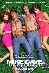 Mike and Dave Need Wedding Dates -  Two hard-partying brothers place an online ad to find the perfect dates for their sister's Hawaiian wedding. Hoping for a wild getaway the boys instead find themselves out-hustled by an uncontrollable duo.  Genre: Adventure Comedy Romance Actors: Adam Devine Anna Kendrick Aubrey Plaza Zac Efron Year: 2016 Runtime: 98 min IMDB Rating: 6.0 Director: Jake Szymanski  Mike and Dave Need Wedding Dates full movie - original post here: InsideHollywoodFilms