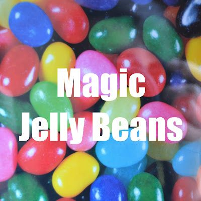 Magic jellybeans with free printable