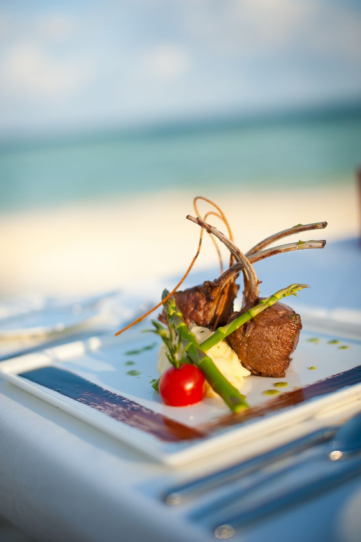 Gourmet meals taste even better by the sea.