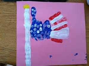 fourth of july art for infants
