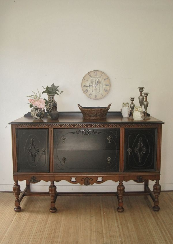 Hometalk :: ANTIQUE SIDEBOARD NO. 2 - What's your preference?