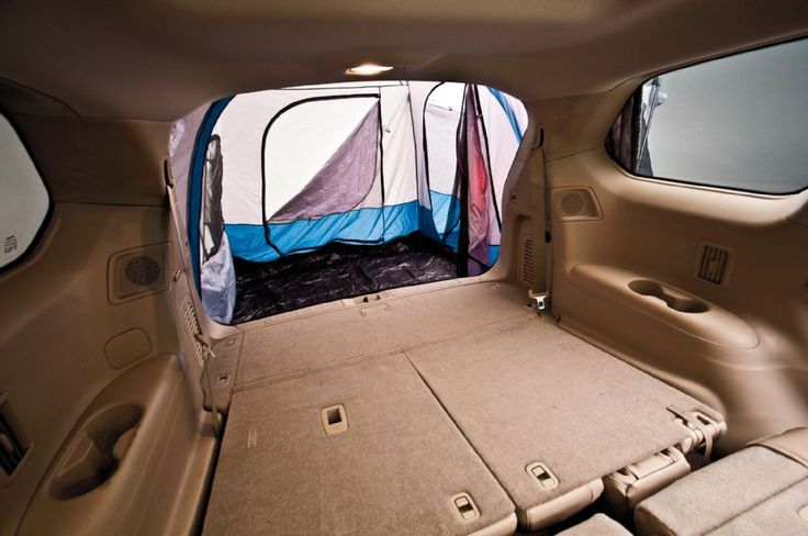 Nissan Pathfinder Platinum Interior Rear Tent - we need this for camping w nol