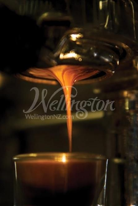 Wellington is the coffee capital of New Zealand.