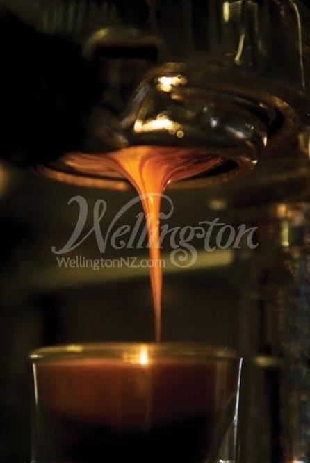 Wellington is the coffee capital of New Zealand.
