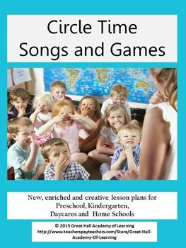 Over 50 pages of new, enriched and creative lesson plans for preschool, kindergarten, daycares and home schools.