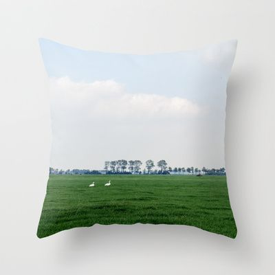 Netherlands 4 Throw Pillow by jacthegirl - $20.00 Get your pillows in a row with a couple of these ducks!