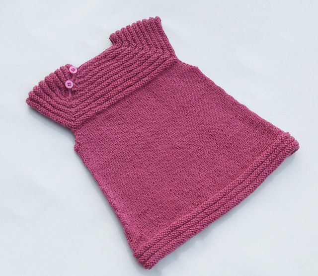 Free Baby Dress Knitting Pattern - after the tunics!