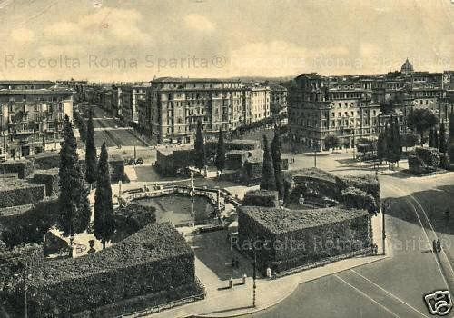 1032 best roma sparita images on pinterest italia italy for Piazza mazzini roma