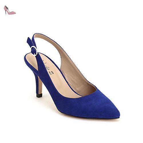 Alesya Scarpe&Scarpe - Decolletè Donna - 39,0, Bleu
