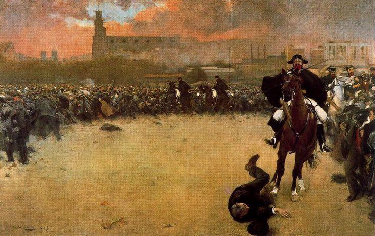 La carga, de Ramón Casas.