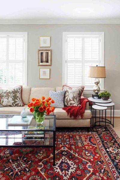 Best 25 living room arrangements ideas on pinterest - How to choose rug color for living room ...