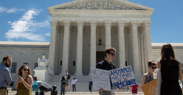 In a partial win for President Trump, the court said a limited travel ban could take effect, and agreed to take a case with implications for presidential power.