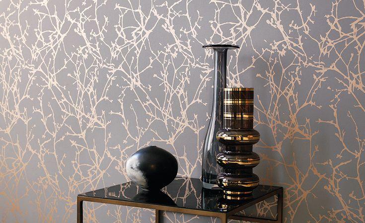 Lomasi - Arbor Wallcovering, colore Andesite