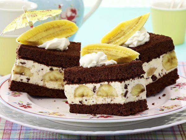 Banánový zákusok