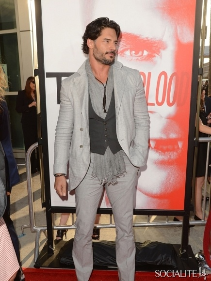 Joe Manganiello - Cast Members Attend The 'True Blood' Season 5 Premiere