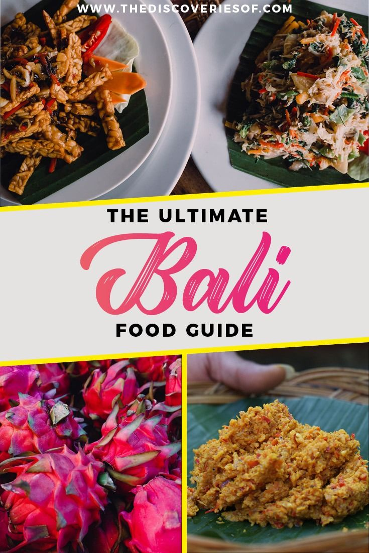 The Bali Food Guide I Bali Travel I Food I Indonesia I Travel #traveldestinations #food #bali #indonesia 18