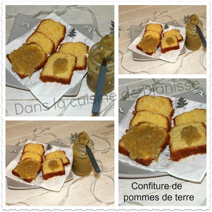 Confitures de pommes de terre vegan