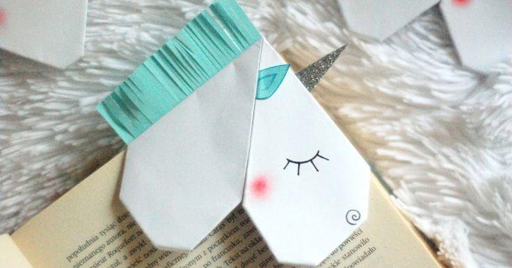 Zakładka do książki w kształcie jednorożca - instrukcja już na Lubię Tworzyć! :)   #jednorożec #zakładka #zakładkadoksiążki #książka #diy #zróbtosam #handmade #tutorial #poradnik #jakzrobić #howto #sposóbwykonania #instrukcja #instruction #krokpokroku #zpapieru #papercraft #craft #crafts #lubietworzyc #unicorn #bookmark #book