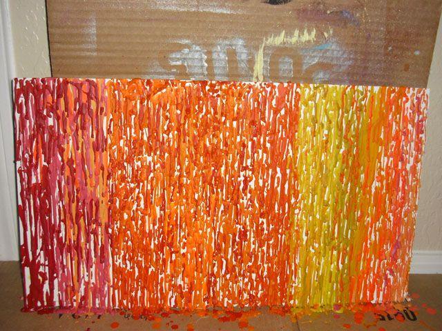 punk projects: Run Crayons through your Hot Glue Gun- a DIY.