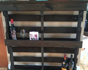 Rustic Horseshoe Wall Shelving Reclaimed Wood by TheWoodGarageLLC