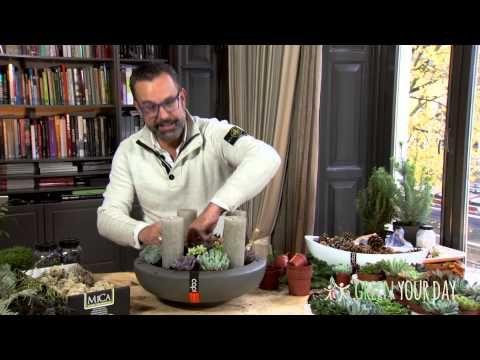 Zelfmaken: moderne adventskrans Kerst, Zelfmaken - Margriet