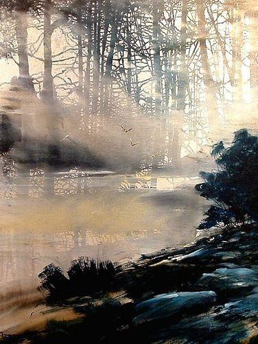 Roland Palmaerts watercolor.