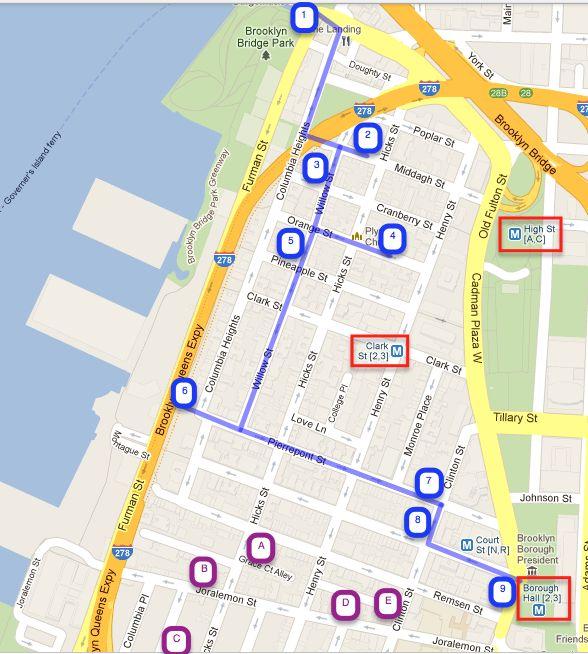 A Stroll Through Brooklyn Heights | Missing NYC | Pinterest ...