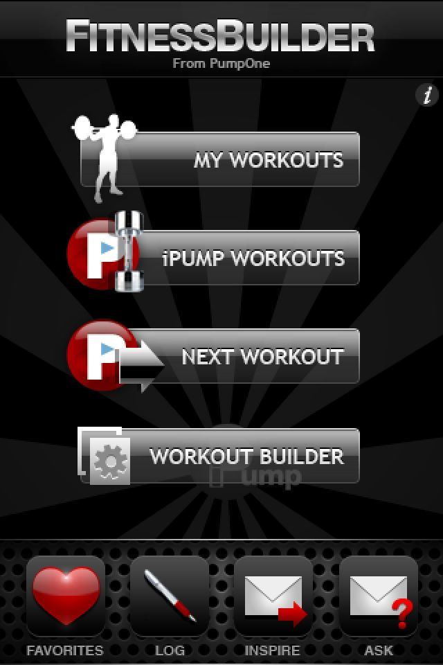 The 11 Best Exercise and Fitness Apps for the iPhone: iPump & Fitness Builder