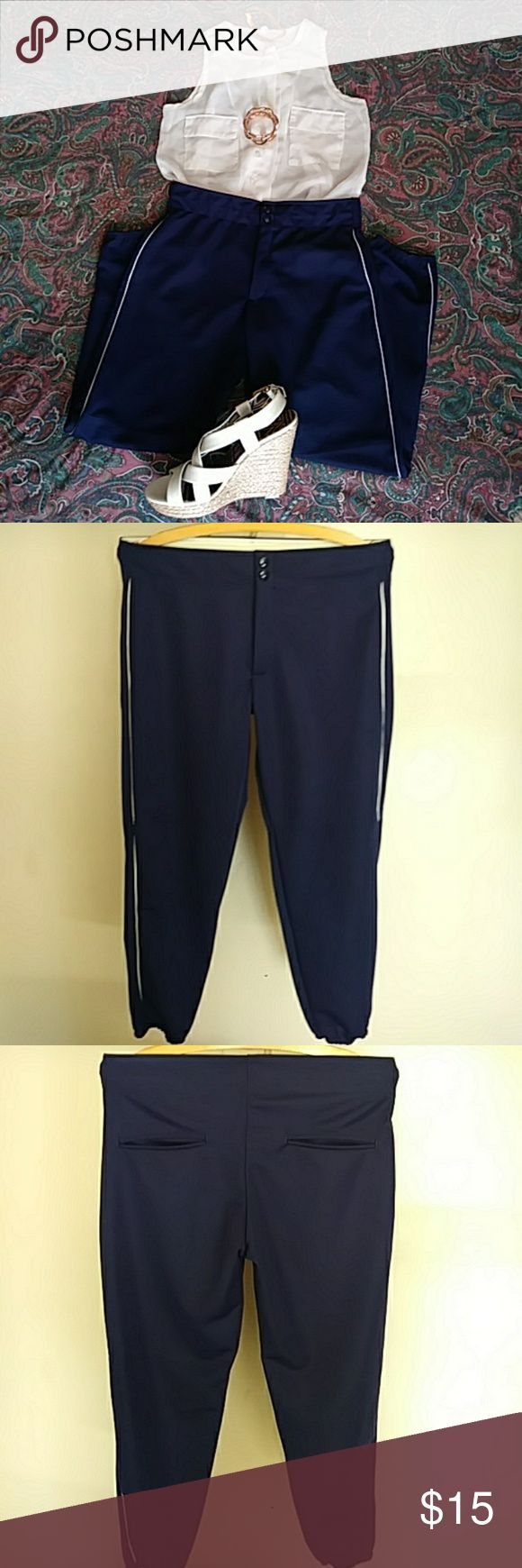 Augusta Sportswear Augusta Sportswear Ladies'/Girls' Low Rise Collegiate Pant. Wear them for sport or dress them up with boots or heals. Perfect condition! 100% Cotton. Size Ladies M. Augusta Sportswear Pants Track Pants & Joggers