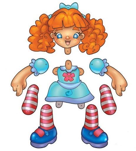 #Articulated #Paper Doll Recorte e monte - Nanci Fernandes - Picasa Web Albums