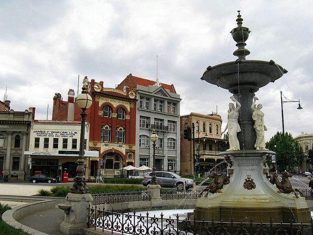 Alexandra Fountain - Bendigo by Dean-Melbourne, via Flickr