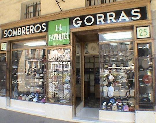 Sombreros y gorras la favorita 1894 comercios antiguos - Calle escorial barcelona ...