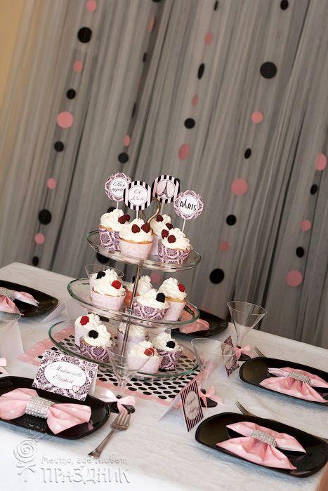 День рождения в стиле Париж