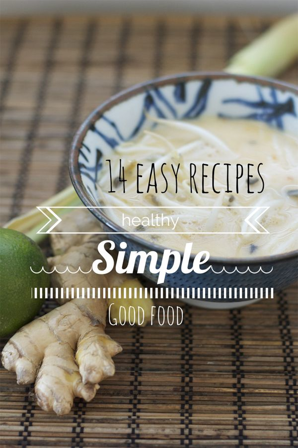 14 Easy Dinner Recipes (That are healthy & frugal too!). These meals will help you keep healthy recipes on the table on an every night basis.