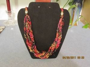 Linda Kitchell's Necklace's-NOT FOR SALE-Made from Berlini Magical Treat Yarn