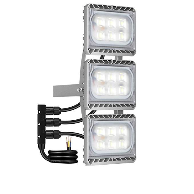 Led Flood Light Stasun 90w 8100lm Led Security Lights Outdoor With Wider Lighting Area 6000k Daylight Built With Cree Led Chips Waterproof Great For Yard Led Flood Lights Security Lights