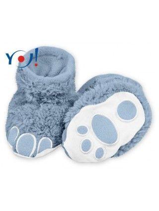 Botičky/ponožtičky YO ! MEDVÍDEK - jeans