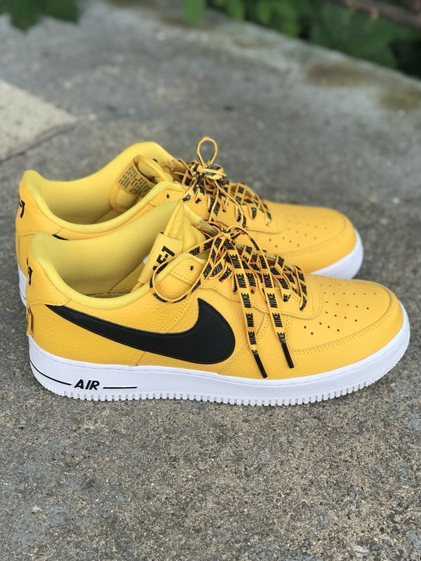 air force 1 hombre amarillo