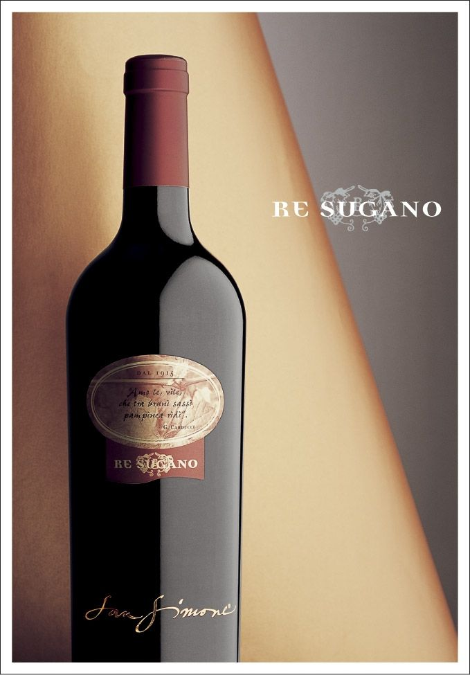"San Simone Refosco d.p.r. DOC ""Re Sugano""....is the ""King"" among the indigenous red varieties of Friuli. Refosco grape derives this name from its red stem that holds the grapes to the vine (peduncle)."